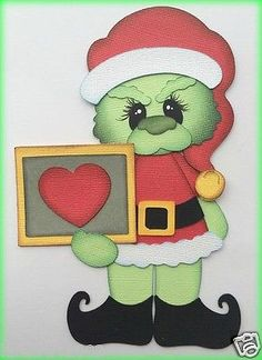 PREMADE-THE-GRINCH-WITH-HEART-CHRISTMAS-PAPER-PIECING-BY-MY-TEAR-BEARS-KIRA