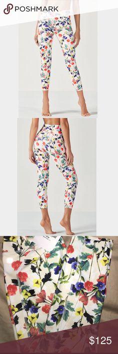 5316f490ecc4e0 Fabletics LISETTE high waist Floral Poppy Leggings BRAND NEW FABLETICS XS  & Medium available.