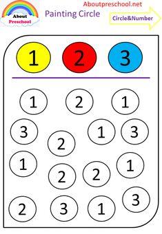 Preschool Writing, Numbers Preschool, Kindergarten Learning, Preschool Learning Activities, Learning Numbers, Art Activities, Visual Motor Activities, Numbers For Kids, Kindergarten Math Worksheets