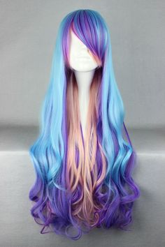 $29.99 (Buy here: https://alitems.com/g/1e8d114494ebda23ff8b16525dc3e8/?i=5&ulp=https%3A%2F%2Fwww.aliexpress.com%2Fitem%2F680cm-Long-Multi-Color-Beautiful-lolita-wig%2F792248329.html ) MCOSER 80cm Long Multi-Color Beautiful lolita wig Anime Wig for just $29.99