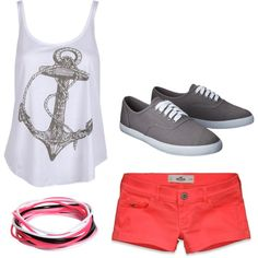 summer - theme park love the tank top! Cruise Outfits, Disney Outfits, Spring Outfits, Theme Park Outfits, Fade Styles, Cruises, Spring Summer Fashion, Cloths, Girly