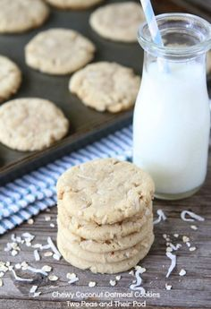 Chewy Coconut Oatmeal Cookie