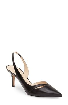 Nine West 'Korkskrew' Slingback Leather Pump (Women) at Nordstrom.com.
