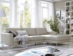 Sofa hannah aus dem programm contur raum freunde in rotem - Edle wohnzimmer einrichtung ...