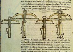 """Roberto Valturio, """"De re militari"""", Ms 4.S.IV.11, folio 160 v; redazione 1446-1455c, edizione 1472 (Biblioteca Gambalunghiana, Rimini, Italy)."""