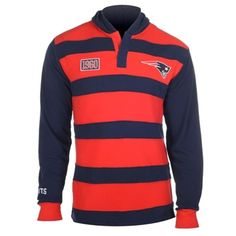 New England Patriots Cotton Rugby Hoody