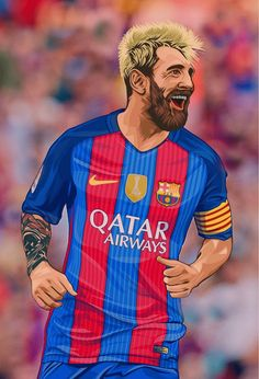 Football Player Drawing, Soccer Drawing, Soccer Players, Fifa Football, Football Art, Messi Beard, Aubameyang Arsenal, Lionel Messi Wallpapers, Leonel Messi