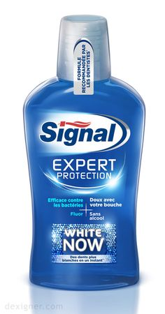 Signal Expert Protection White Now Mouthwash