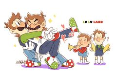 "nowitsevenhotter: "" I'm always gonna love you. Mario Y Luigi, Super Mario And Luigi, Super Mario Art, Super Mario Brothers, Mario Bros, Metroid, Mario Fan Art, Mario Memes, Nintendo Princess"
