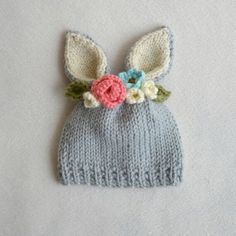 Goat newborn hat
