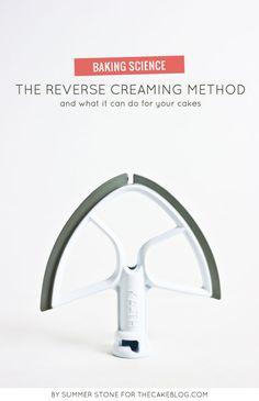 The Reverse Creaming Method