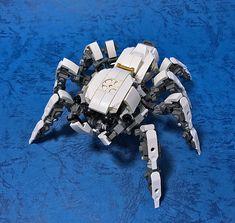 Lego Mecha, Bionicle Lego, Lego Robot, Robots, Animal Robot, Lego Dragon, Lego Sculptures, Arte Robot, Jumping Spider