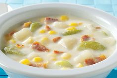 This Potato Corn Chowder has every reason to be sassy, if not downright arrogant. It's yummy, easy, quick-to-make and a better-for-you choice, too.