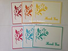Stampin Up! ~ Flowering Flourishes