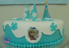 Dulces felicidades: #Tarta Fondant #Frozen