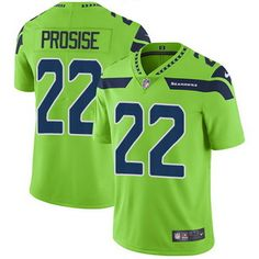 21 Nike Seattle Seahawks  22 C. J. Prosise Green NFL Limited Rush Men s  Stitched Jersey Seahawks 10e707b04