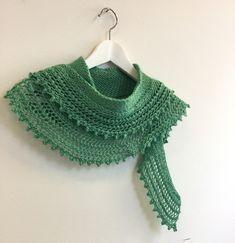 gratis mönster, stickad sjal mönster, lättstickad sjal mönster