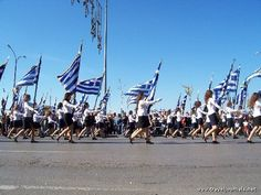 Oxi day in Thessaloniki.