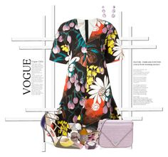 """""""Floral Dress!"""" by flippintickledinc ❤ liked on Polyvore featuring Marni, Alexander Wang, Jimmy Choo and Ippolita"""