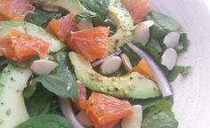 citrus avocado salad with orange vinaigrette