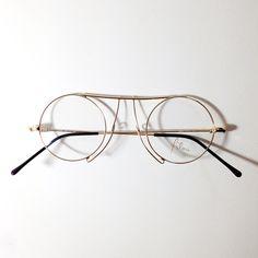 Vintage round eyeglasses | Architect's Fashion