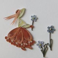 Quilling-creation-kit-quiling-paper-and-card-board-or-only-board-young-girl Quilling Birthday Cards, Paper Quilling Cards, Paper Quilling Tutorial, Paper Quilling Flowers, Paper Quilling Patterns, Paper Crafts Origami, Quilling Videos, Quilling Jewelry, Quilling Craft