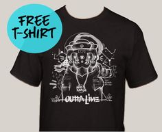 Mike Sarge Is Giving Away 'Outta Line' T-Shirts | News | @mike_sarge @trackstarz - http://trackstarz.com/mike-sarge-giving-away-outta-line-t-shirts-news-mike_sarge-trackstarz/