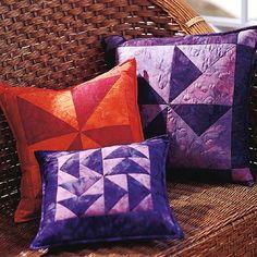 Easy Quilt block pillows