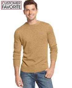 2e6a4288 Tommy Hilfiger Signature Solid Crew-Neck Sweater - Orange L. ModeSens · Tommy  Hilfiger Men