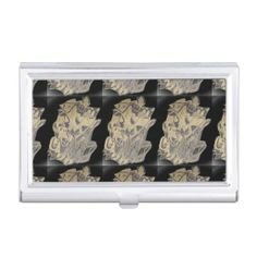 Abstract Business Card Holder
