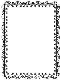 Výsledok vyhľadávania obrázkov pre dopyt free winter frames and borders png Borders Free, Doodle Borders, Page Borders, Borders For Paper, Borders And Frames, Black And White Google, Clipart Black And White, Free Doodles, Border Templates
