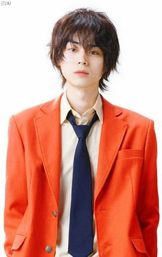 Masaki suda Tonari no kaibutsu-kun live action Most Handsome Actors, Handsome Boys, Japanese Boy, Japanese Drama, Pretty Boys, Cute Boys, Kentaro Sakaguchi, My Little Monster, Cute Faces