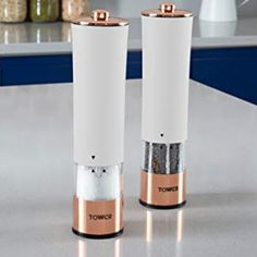 46daf3116 Tower T847003RW Electric Salt and Pepper Mills