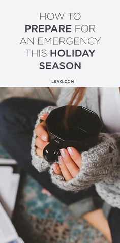 Because you may already be shorter on cash than usual. @levoleague www.levo.com