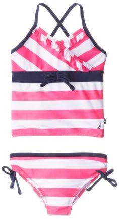 Nautica Little Girls'  Stripe Tankini 2, Intense Pink, 2T Nautica http://www.amazon.com/dp/B00GWZZPIE/ref=cm_sw_r_pi_dp_WAnqub0S9AZXW
