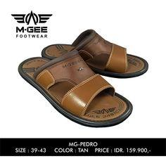 M-GEE Footwear MG-PEDRO Tan