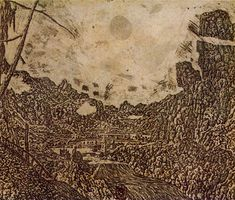 Hercules Pietersz. Seghers - Landscape with Waterfall