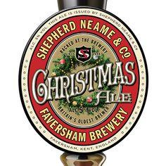 Shepherd Neame Christmas Ale Pump Handle - Merry Christmas!  ;)