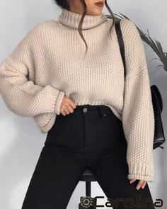 Winter Mode Outfits, Casual Winter Outfits, Winter Fashion Outfits, Look Fashion, Korean Fashion, Fall Outfits, Cute Outfits, Classy School Outfits, Fashion Women