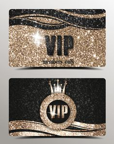 Luxury VIP gold cards vector material 03 Passe Vip, Eps Vector, Vector Free, Logos Vintage, Credit Card Design, Vip Pass, Black Phone Wallpaper, Vegas Style, Luxury Nails