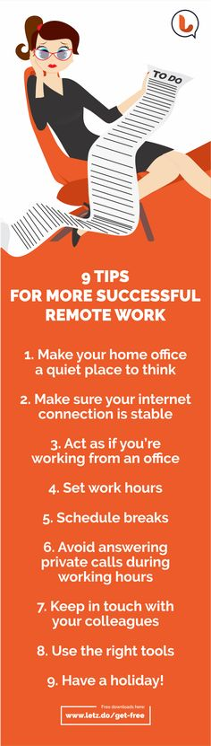 Working remotely? This is how to manage your time successfully :)  Read more here: https://medium.com/@Lucy_Letz/working-remotely-this-is-how-to-manage-your-time-successfully-3da00ac23ea9