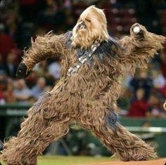 Star Wars and baseball unite!
