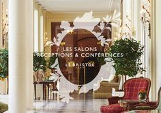 Brochure Réceptions et Conférences