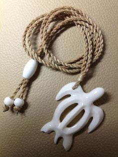 """Honu(turtle)Carved Fom Cow Bone 2"""".Comes With 1Year Warranty."""