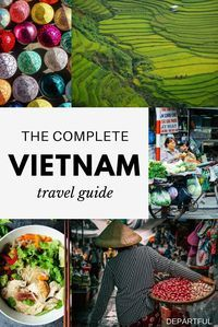 In this comprehensive Vietnam Travel Guide, I& focusing on the logistics including when to go, transportation, and what to include in your itinerary. Specifically, how travellers can best explore this stunning country from the fog shrouded rice terraces Vietnam Travel Guide, Asia Travel, Vietnam Destinations, Travel Destinations, Vietnam Accommodation, Vietnam Tourism, Travel Plane, Hanoi Vietnam, Hoi An