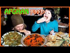 AFGHAN FOOD 😍  MUKBANG 😍 EATING SHOW - YouTube