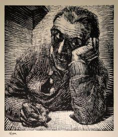 Ignaz Epper, woodcut