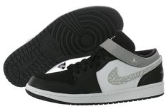 Nike Air Jordan 1 Strap Low 574420-003 Men - http://www.gogokicks.com/