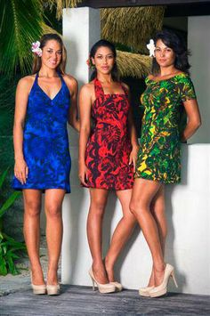 TAV PACIFIC Dress Up Outfits, Summer Outfits, Fashion Dresses, Cute Outfits, Summer Dresses, Island Wear, Island Outfit, Tahiti, Polynesian Designs