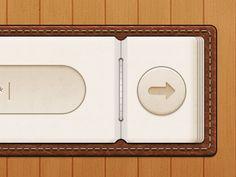 iPad UI Navigation Design from Dribbble.com